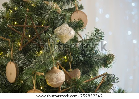 Christmas decorations, Christmas tree #759832342