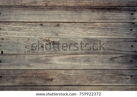 Old wood plank wall for design and decoration #759922372