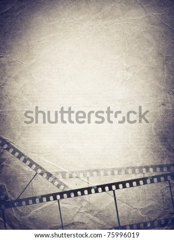 Grunge film strip backgrounds.