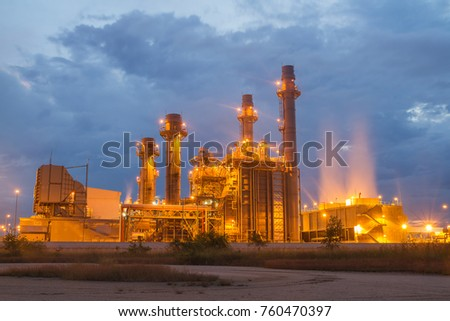 power plant in the Petrochemical industry. #760470397