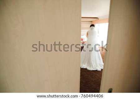 Bride wedding details - wedding dress #760494406