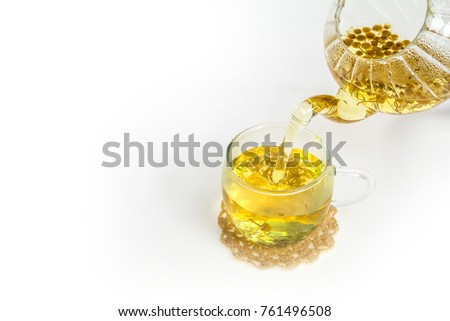 Chamomile herbal tea #761496508