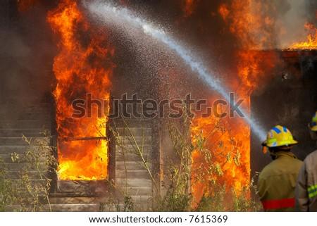 House fire #7615369