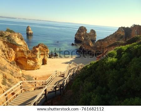 Algarve at Lagos Portugal #761682112