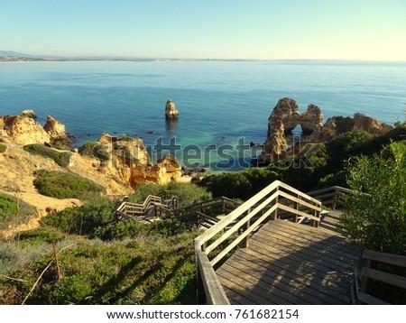 Algarve at Lagos Portugal #761682154