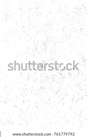 Grunge black and white pattern. Monochrome particles abstract texture. Background of cracks, scuffs, chips, stains, ink spots, lines. Dark design background surface. Gray printing element #761779792