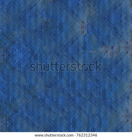 Old Color Grunge Vintage Weathered Background. Abstract Messy Antique Texture With Retro Pattern. Modern Futuristic Painted Wall For Backdrop, Wallpaper, Banner With Copy Space. Close Up Square Image #762312346