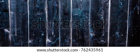 Black soft wood surface as background, wood texture. Wood planks #762435961