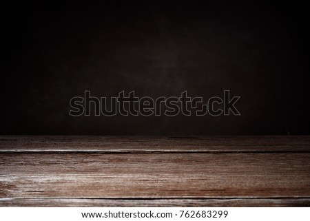 Horizontal shot of elegant brown wooden texture on a brown background with copy space. Wooden background. #762683299
