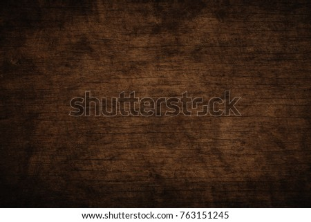 Old grunge dark textured wooden background,The surface of the old brown wood texture #763151245