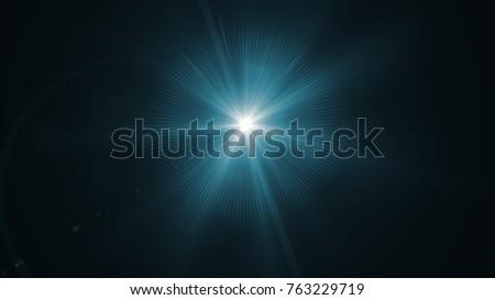 Digital lens Flare , lens flare, light leaks , Abstract overlays background. #763229719