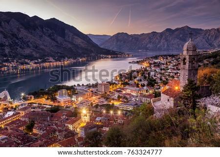 Kotor great city in Montenegro #763324777