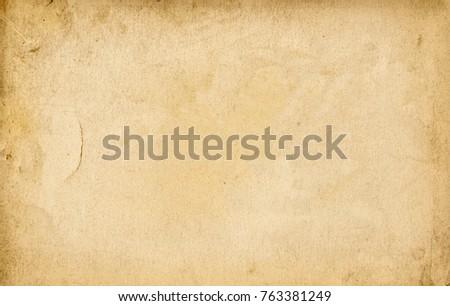 close up of a grunge vintage old paper background #763381249