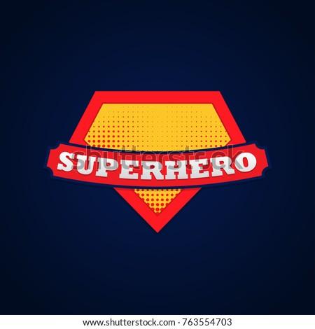 Super hero power full typography, t-shirt graphics, vectors.