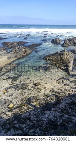 Rocky beach front, Cape Town, South Africa #764320081