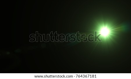 Digital lens Flare , light leaks , Abstract overlays background. #764367181