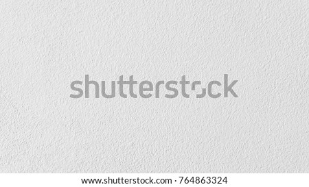 White concrete wall texture background, cement wall, plaster texture, for designers #764863324
