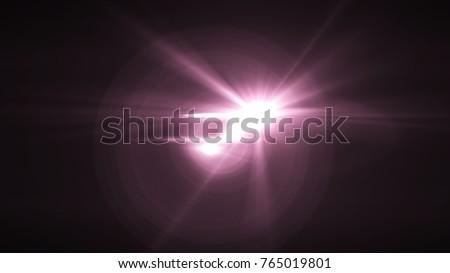 Digital lens Flare , light leaks , Abstract overlays background. #765019801