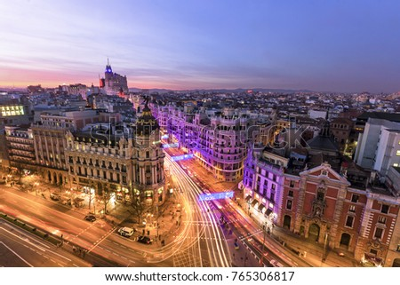 Madrid by night #765306817