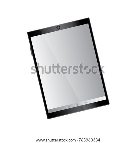 tablet device icon image  #765960334