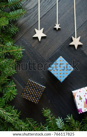 Beautiful Christmas decoration #766117825
