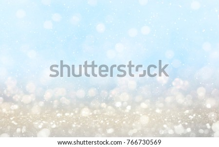 Blurred background with light bokeh #766730569