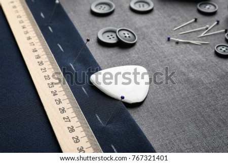 Accessories for tailoring on fabric #767321401