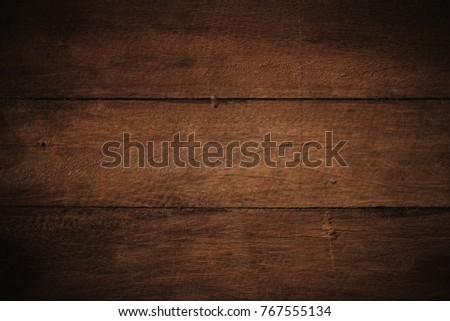 Old grunge dark textured wooden background,The surface of the old brown wood texture #767555134