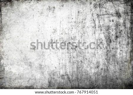 Grunge frame, scratched texture #767914051