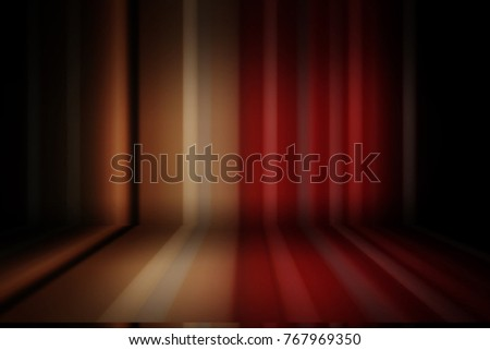 Blurred bending wall with lines background gradient #767969350
