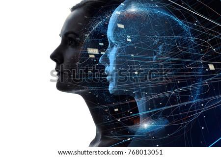 Mental world of human concept.