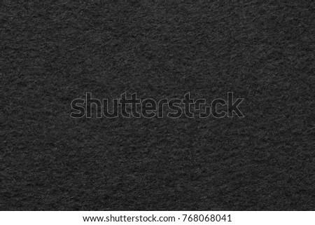 Black felt texture . Close up   #768068041