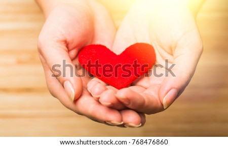 Heart in  hand. #768476860