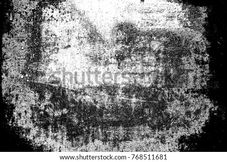 Abstract background. Monochrome texture. Image includes a effect the black and white tones. #768511681