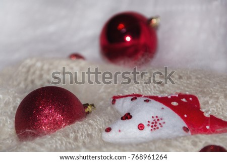 New year and christmas background for design and cards #768961264