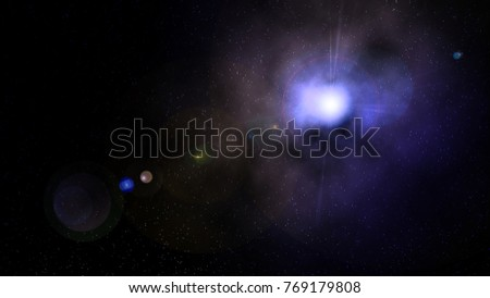 Space Galactic Illustration #769179808