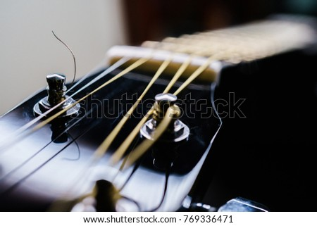 Background On a theme guitar #769336471