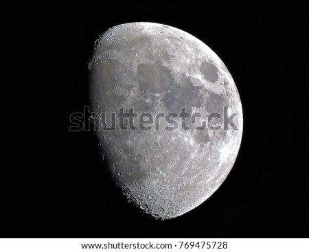 detailed moon picture