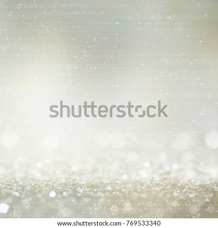 Abstract Light Bokeh Background. Winter holidays background. #769533340