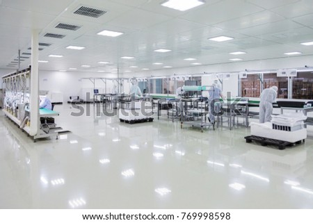 scientists working in laboratory #769998598