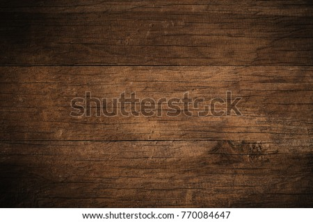 Old grunge dark textured wooden background,The surface of the old brown wood texture #770084647