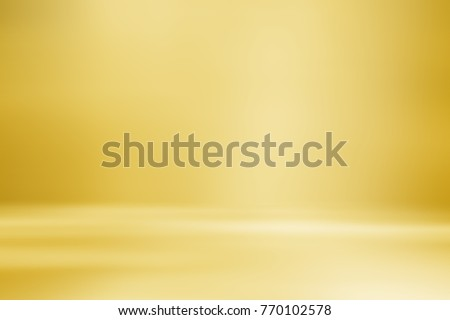 orange, yellow empty room studio gradient used for background and display your product