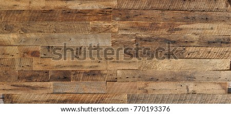 reclaimed wood Wall Paneling texture Royalty-Free Stock Photo #770193376