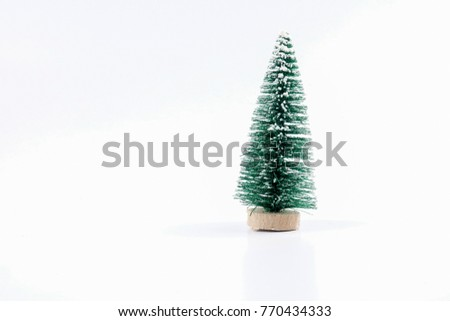 Christmas tree decoration for Christmas festive.