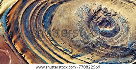 The Milky Way heading towards Andromeda, abstract photography of the deserts of Africa from the air. aerial view of desert landscapes, Genre: Abstract Naturalism, from the abstract to the figurative,