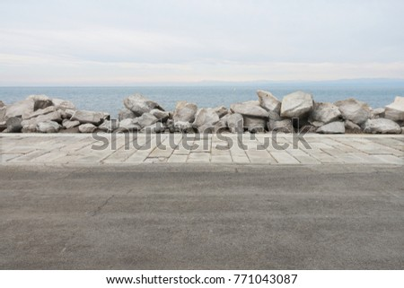 Seaside Street Road View #771043087
