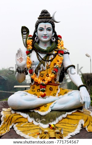 Statue of lord shiva #771754567