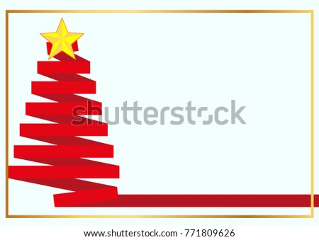 Vector illustration abstract Christmas Background #771809626