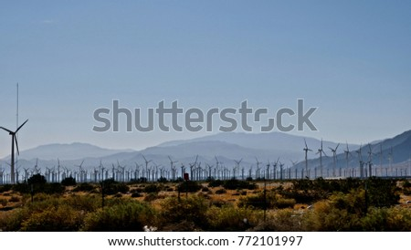 Windmills nearby Palm Springs #772101997