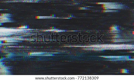 Unique Design Abstract Digital Pixel Noise Glitch Error Video Damage Royalty-Free Stock Photo #772138309